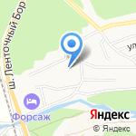 Центральный дом-интернат для престарелых и инвалидов на карте Барнаула