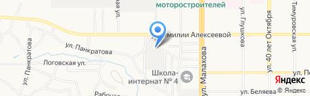 Легенда жизни на карте Барнаула