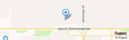 Барнаульский автоцентр КАМАЗ на карте Барнаула