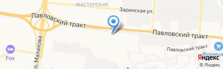 Стоматологическая поликлиника НБН на карте Барнаула