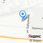 Детский сад №196 на карте Барнаула