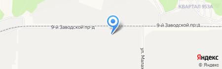 ЗИП на карте Барнаула