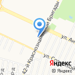 Молодость на карте Барнаула