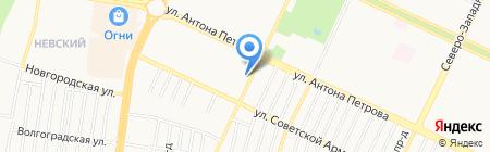 Продукты у дома на карте Барнаула