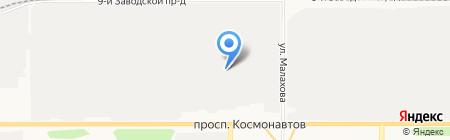 Кочевник на карте Барнаула