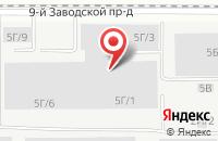 Схема проезда до компании Алтайсплав в Барнауле