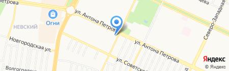 Бiблiотека на карте Барнаула