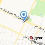 ДЕЗ №2 Ленинского района на карте Барнаула