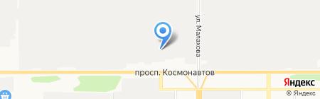 Алтай Мега-Сервис на карте Барнаула