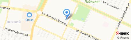 Отделение по делам несовершеннолетних Отдела полиции №3 УВД по г. Барнаулу на карте Барнаула