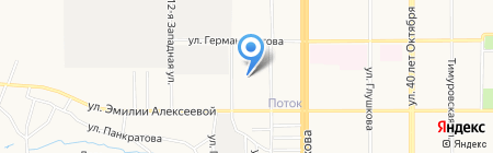 Отдел адресно-справочной работы УФМС России по Алтайскому краю на карте Барнаула