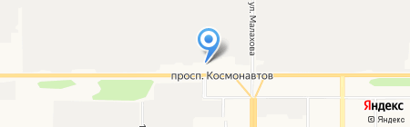 Радар на карте Барнаула