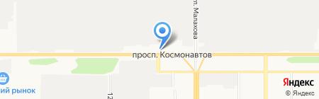 Юнитех на карте Барнаула