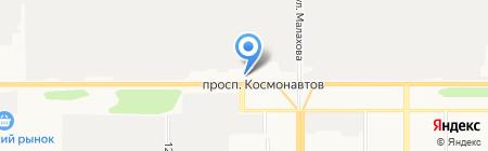 Буква Закона на карте Барнаула