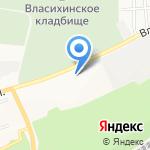 Милка Трейд на карте Барнаула