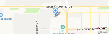 Ленточные Пилы на карте Барнаула