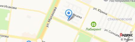 ЖЭУ №12 Ленинского района на карте Барнаула