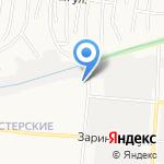 Почтовое отделение №64 на карте Барнаула
