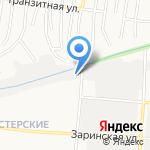 АВТОПУЛЬС на карте Барнаула