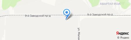 АлтайСплав на карте Барнаула