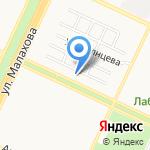 Дент на карте Барнаула