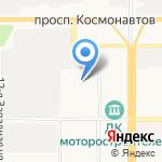 Троллейбусное депо на карте Барнаула