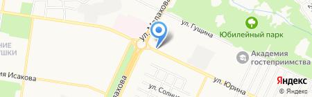 БМПЗ на карте Барнаула