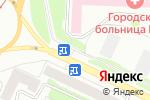 Схема проезда до компании Киоск по продаже мяса и колбасных изделий в Барнауле