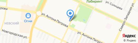 Фото на карте Барнаула