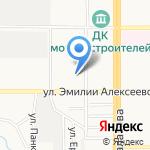 Межрайонный регистрационно-экзаменационный отдел ГИБДД ГУ МВД по Алтайскому краю на карте Барнаула