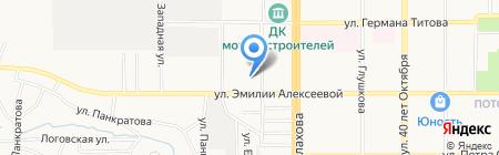 Отдельный батальон патрульно-постовой службы полиции на карте Барнаула