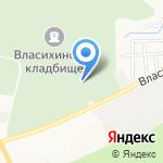 Часовня во имя Дмитрия Донского на карте Барнаула