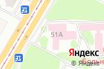 Схема проезда до компании Центр по диагностике и лечению нарушений гемостаза в Барнауле