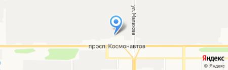 555 на карте Барнаула