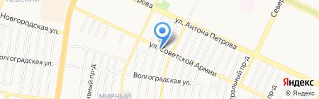 Мобил 21 на карте Барнаула