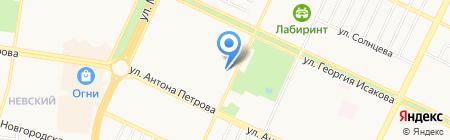 Дочки-матери на карте Барнаула