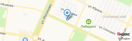 Диета на карте Барнаула