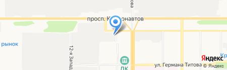 СибИнтеграция на карте Барнаула