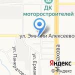 Разливной на карте Барнаула