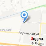 Бако на карте Барнаула