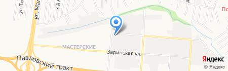 ПРОСВЕТ на карте Барнаула