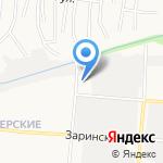Авелюкс на карте Барнаула