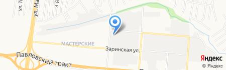 Магазин электрики на карте Барнаула