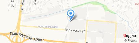 Арт-Неон на карте Барнаула