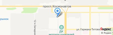 Евростандарт на карте Барнаула