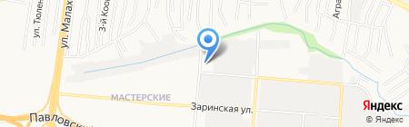 ЛедСвет на карте Барнаула