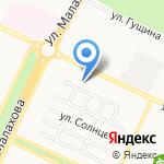 Полидар на карте Барнаула