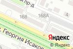 Схема проезда до компании Диета в Барнауле