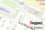 Схема проезда до компании Полидар в Барнауле