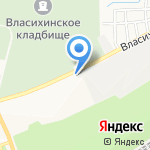 Гранит Мастер на карте Барнаула